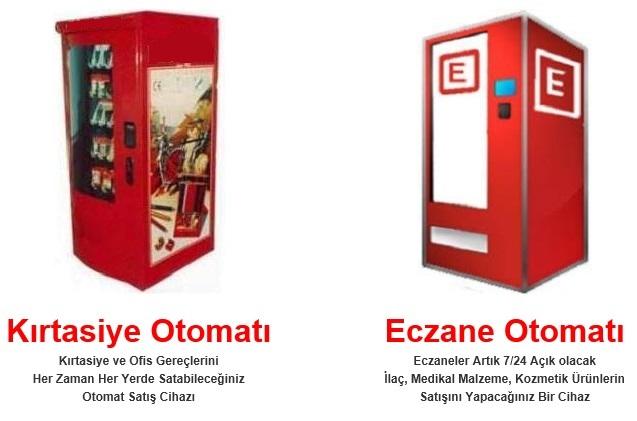Yeni Satış Otomatları